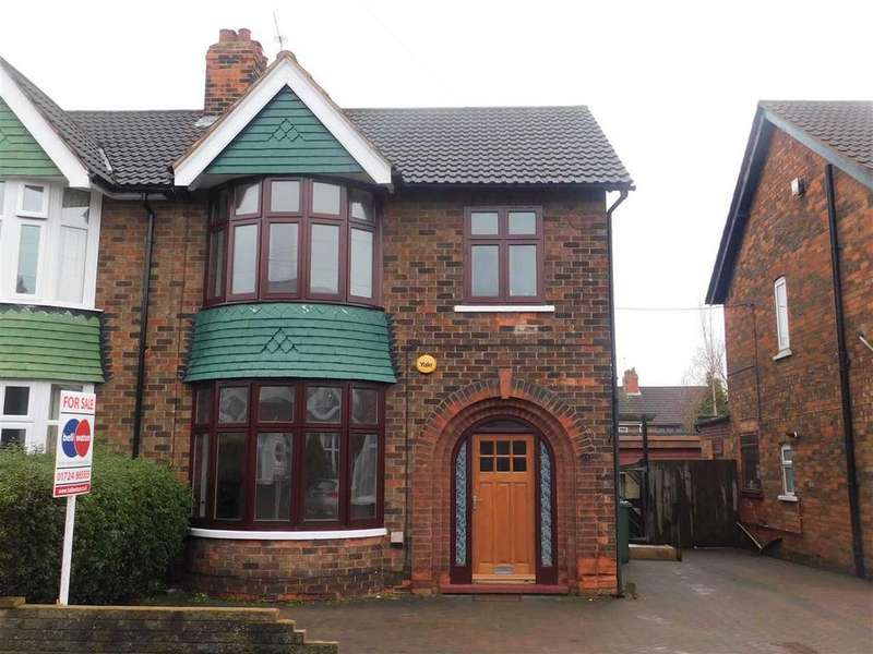 3 Bedrooms Semi Detached House for sale in BRANT ROAD, SCUNTHORPE, SCUNTHORPE