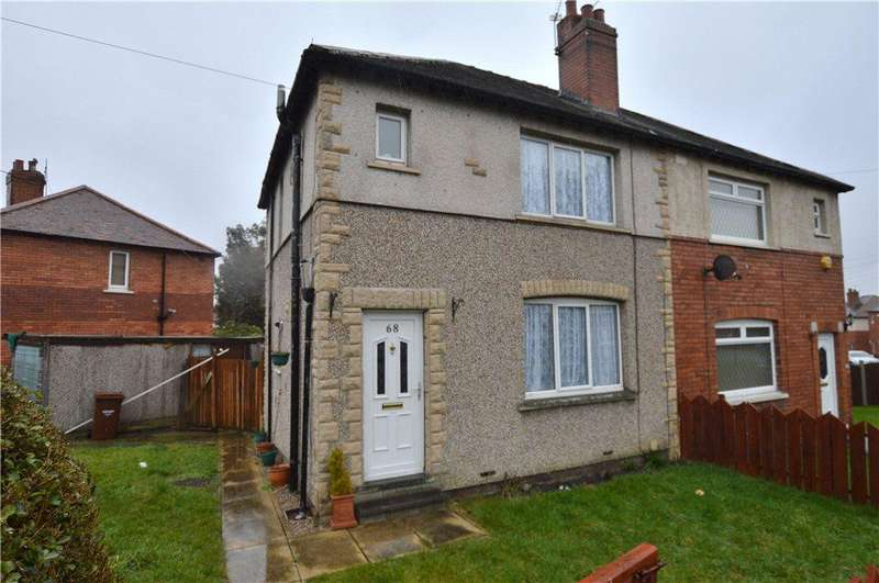3 Bedrooms Semi Detached House for sale in Peacock Avenue, Wakefield, West Yorkshire