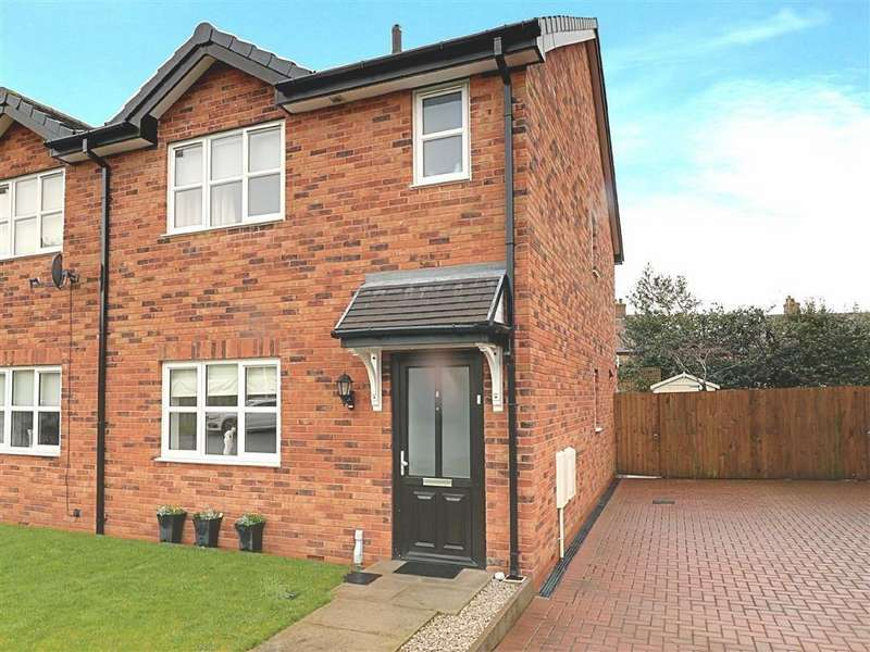 3 Bedrooms Semi Detached House for sale in Vauxhall Place, Nantwich