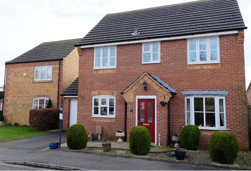 4 Bedrooms Detached House for sale in Barley Lane, Billinghay, Lincoln, Lincs, LN4 4GW