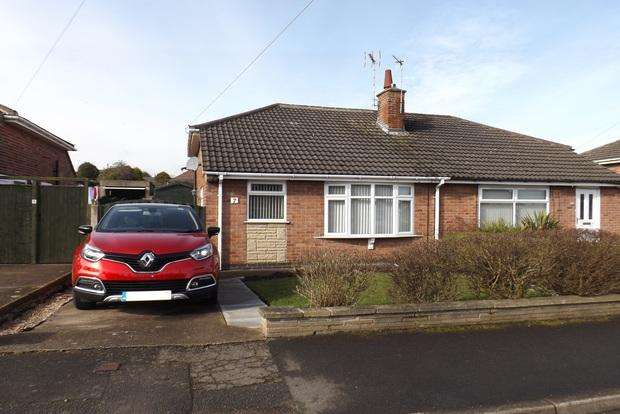 2 Bedrooms Bungalow for sale in Windermere Road, Hucknall, Nottingham, NG15