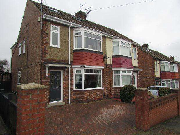 3 Bedrooms Semi Detached House for sale in ELMWOOD ROAD, HART LANE, HARTLEPOOL