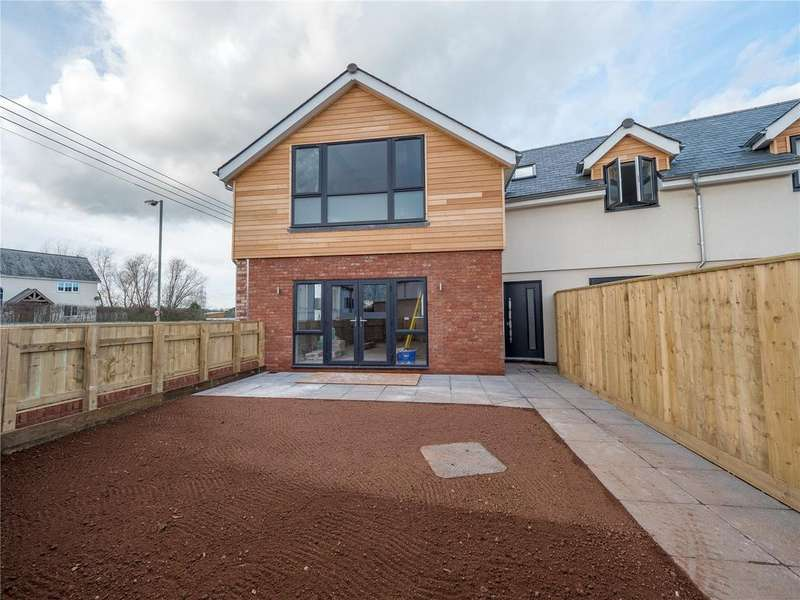 3 Bedrooms Semi Detached House for sale in Plot 1 - Clear Water Court, Frog Lane, Clyst St Mary, Exeter, EX5