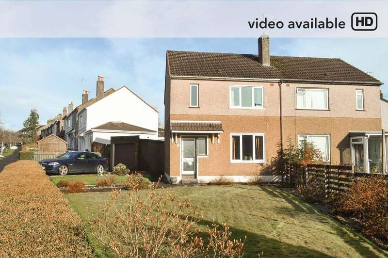 3 Bedrooms Semi Detached House for sale in Beechwood Drive, Broomhill, Glasgow, G11 7EX