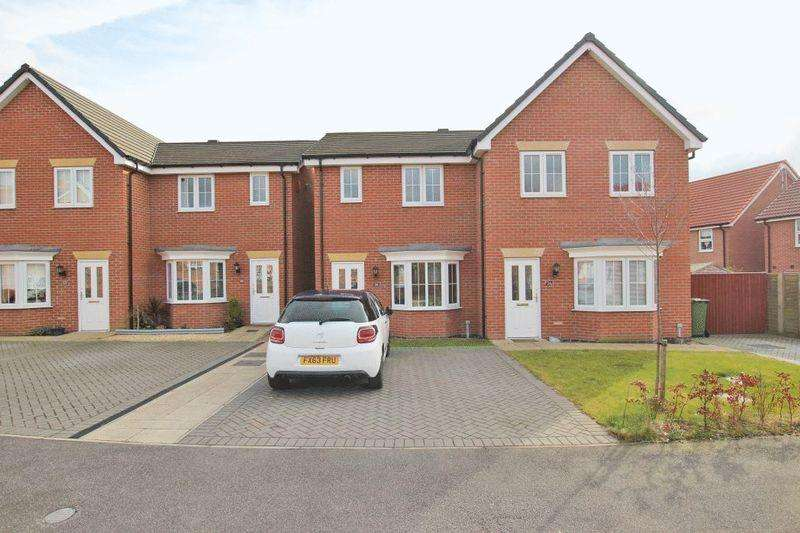 2 Bedrooms Semi Detached House for sale in BURTON ROAD, HABROUGH FIELDS