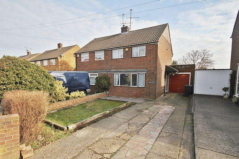 3 Bedrooms Semi Detached House for sale in Lyall Close, Flitwick