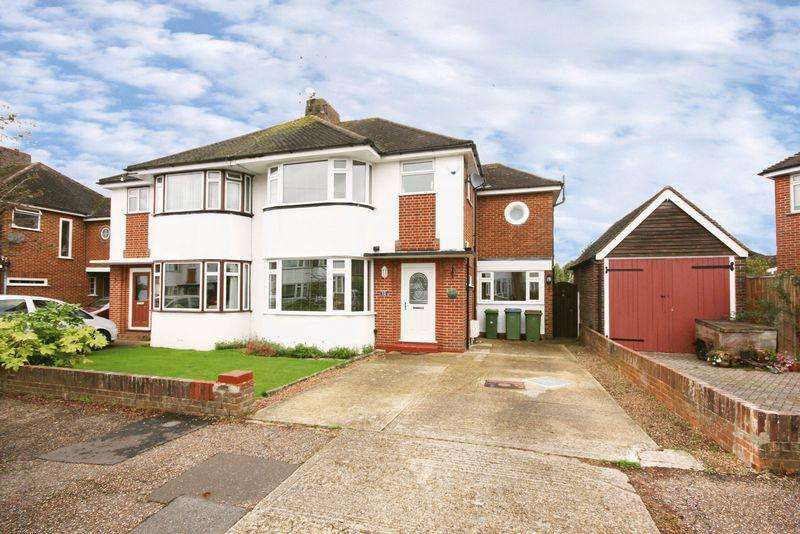 4 Bedrooms Semi Detached House for sale in Curzon Avenue, Horsham