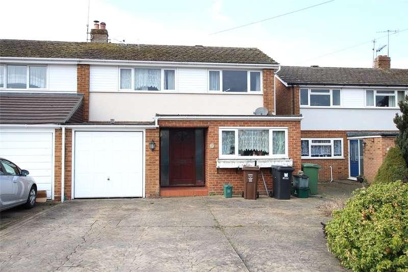 4 Bedrooms Semi Detached House for sale in Gibbons Close, Sandridge, St. Albans, Hertfordshire, AL4