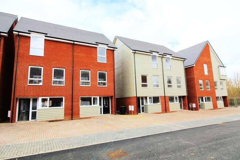 4 Bedrooms Semi Detached House for sale in Plot 10 'Austin Mews', Austin Canons, Kempston, MK42