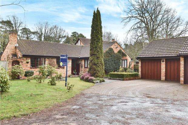 4 Bedrooms Detached Bungalow for sale in Holmbury Avenue, Crowthorne, Berkshire