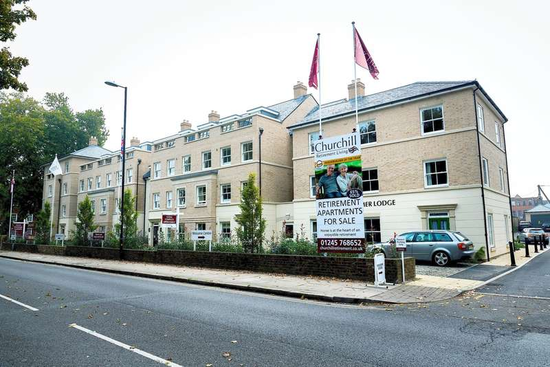 1 Bedroom Apartment Flat for sale in Chelmer Lodge, 111 New London Road, Chelmsford, CM2