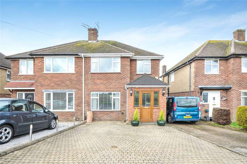 3 Bedrooms Semi Detached House for sale in Harvil Road, Harefield, Middlesex, UB9