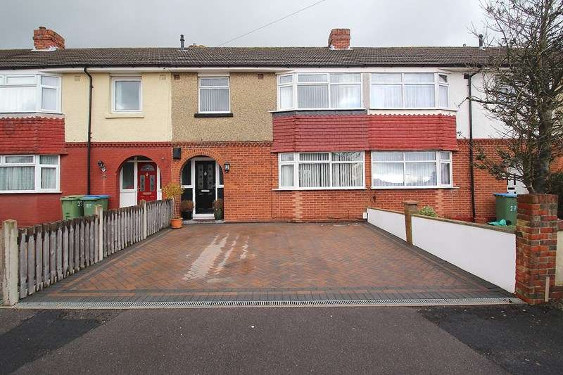 3 Bedrooms Terraced House for sale in Westfield Avenue, Fareham