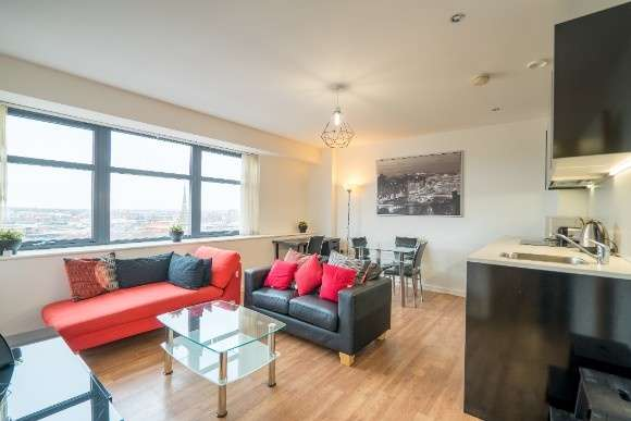 2 Bedrooms Flat for sale in Brindley House, Newhall Street, Birmingham