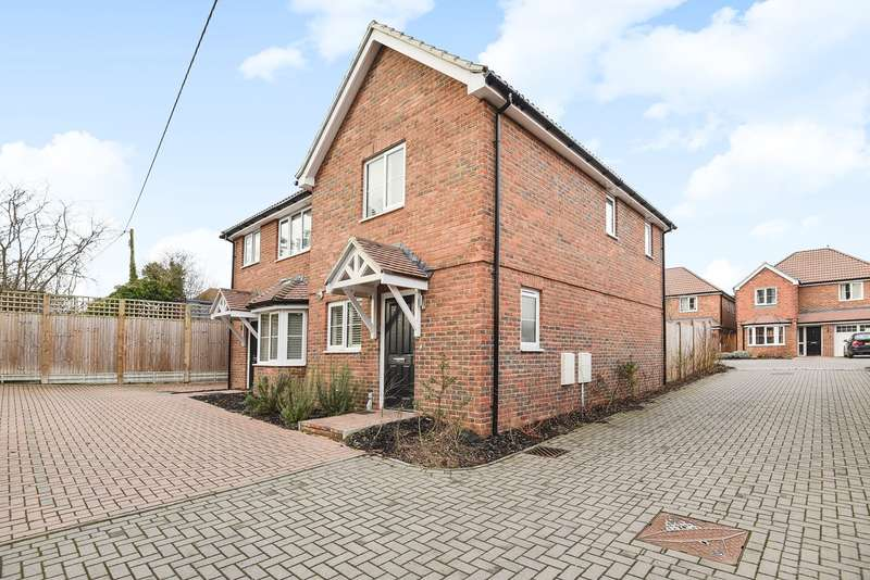 2 Bedrooms Semi Detached House for sale in Kelvin Close, Old Basing, Basingstoke, RG24