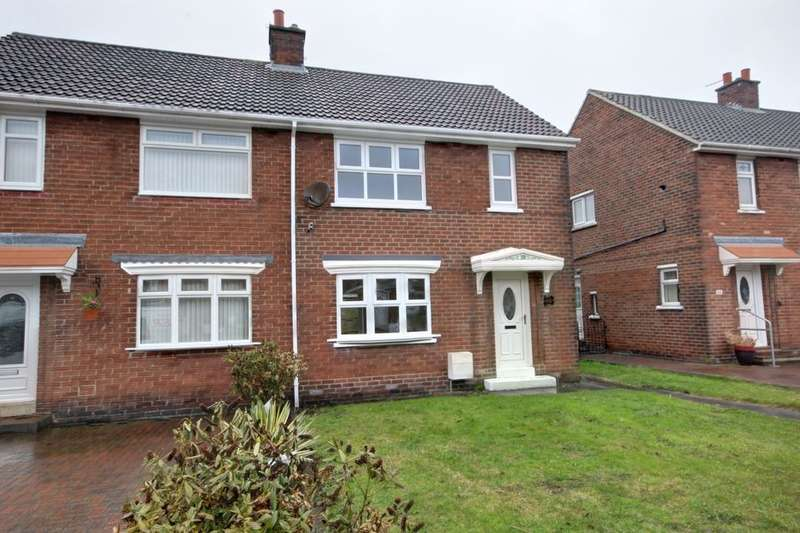 2 Bedrooms Semi Detached House for sale in Brentwood Road, Houghton Le Spring, DH4