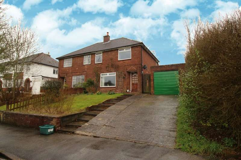 3 Bedrooms Semi Detached House for sale in Weald View Road, Tonbridge, TN9