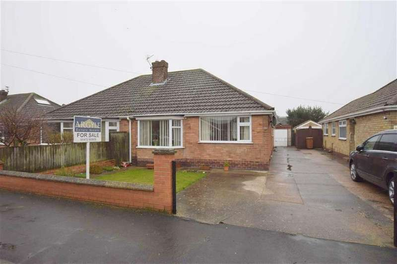 3 Bedrooms Semi Detached Bungalow for sale in Peaks Avenue, New Waltham, North East Lincolnshire