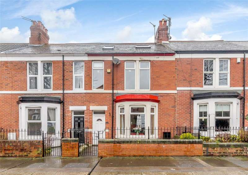4 Bedrooms Terraced House for sale in Sandringham Avenue, Benton, Newcastle-Upon-Tyne, Tyne And Wear