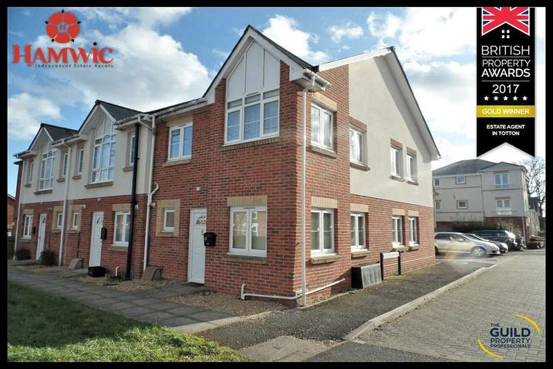 2 Bedrooms End Of Terrace House for sale in Forest Mews, Salisbury Road, Totton, Southampton SO40