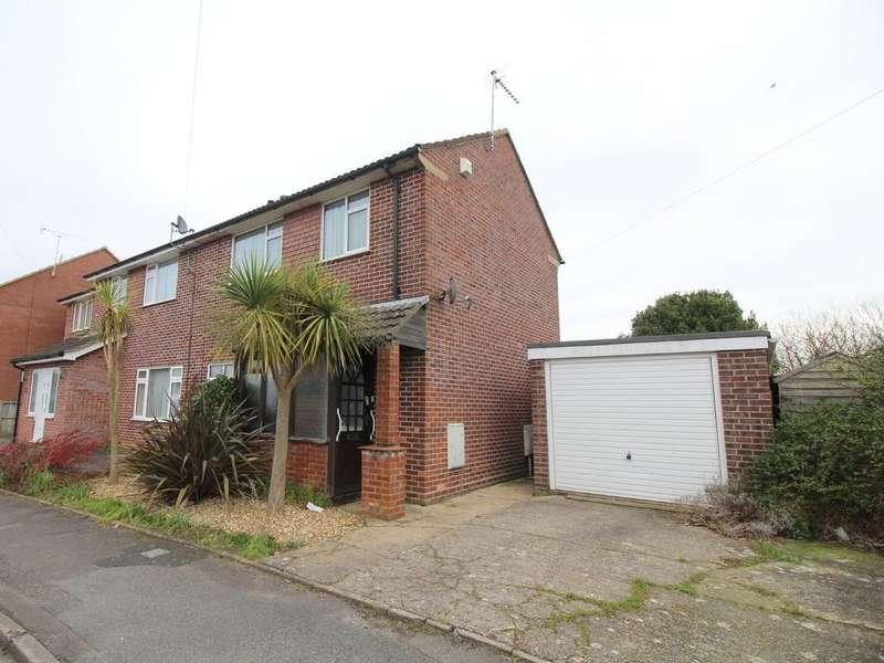 2 Bedrooms Semi Detached House for sale in Heights Approach, Poole