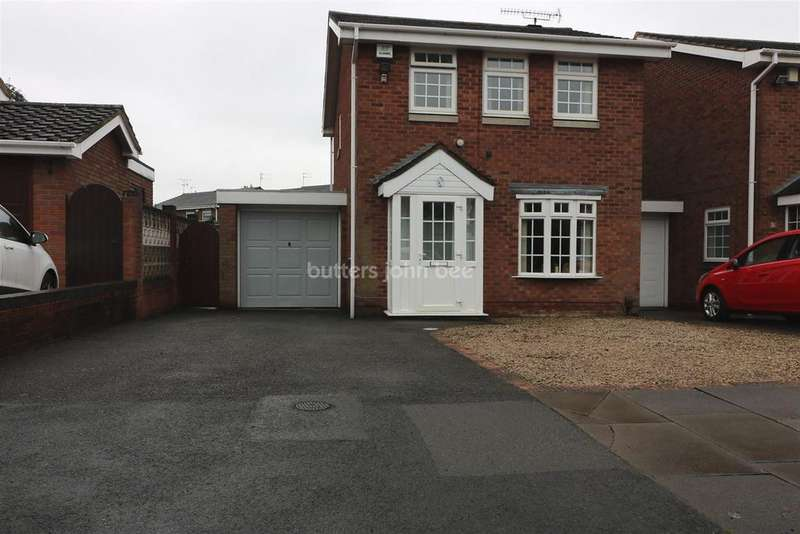 3 Bedrooms Detached House for sale in Greenfield Lane, Fordhouses, Wolverhampton