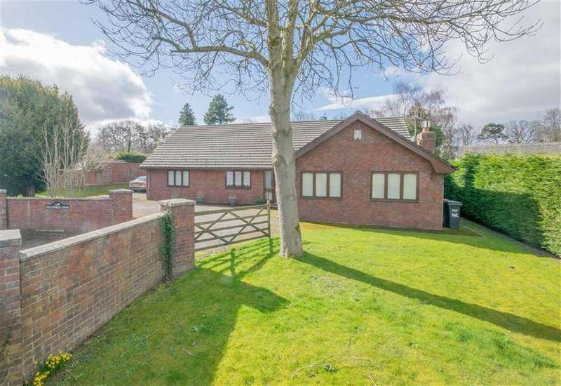 4 Bedrooms Detached Bungalow for sale in Paper Mill Lane, Oakenholt, Flint