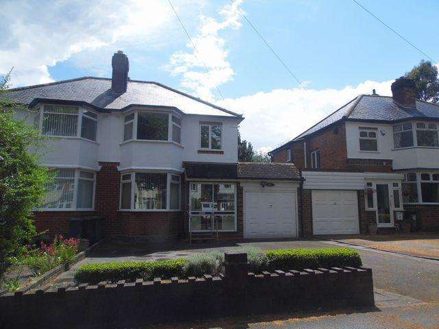 3 Bedrooms Semi Detached House for rent in Ulleries Road, Solihull, B92