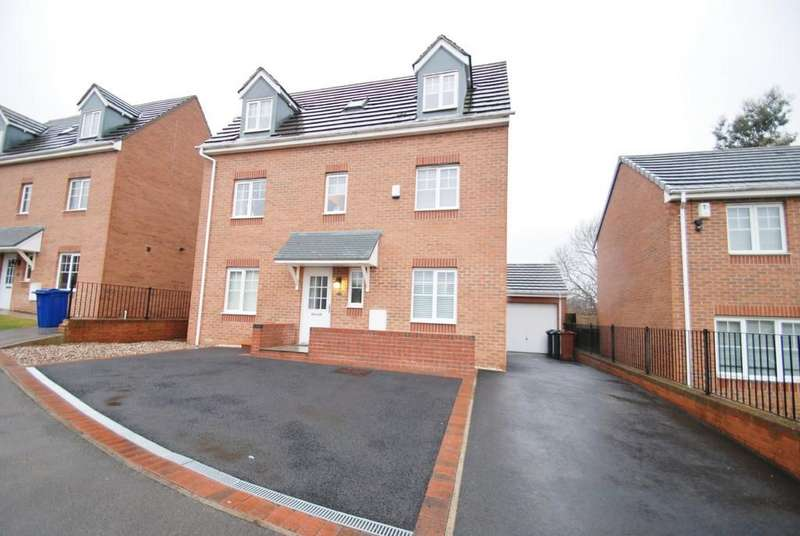 4 Bedrooms Detached House for sale in Champany Fields, Dodworth S75
