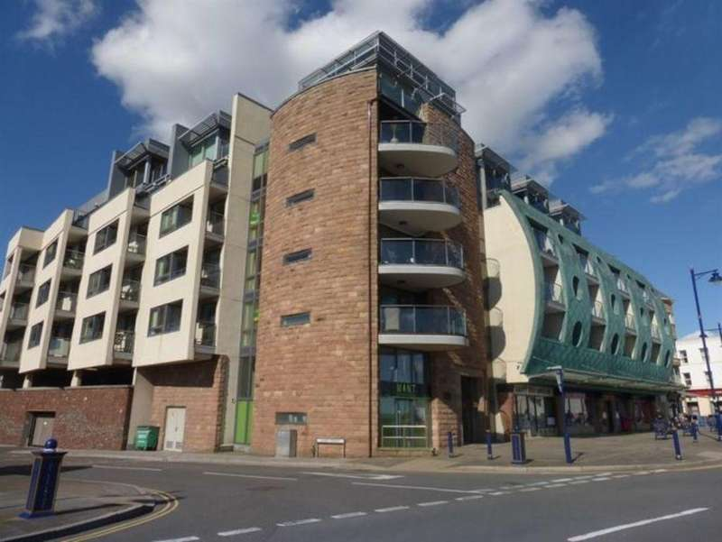 2 Bedrooms Apartment Flat for sale in ESPLANADE HOUSE, THE ESPLANADE, PORTHCAWL, CF36 3YE