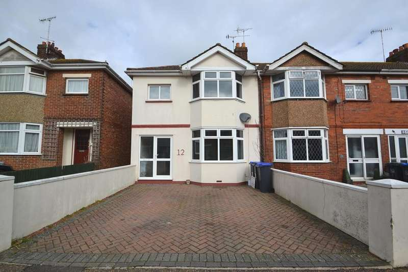 3 Bedrooms End Of Terrace House for sale in Henty Road, Worthing, West Sussex, BN14 7HE