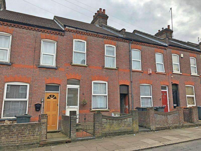 2 Bedrooms Terraced House for sale in Butlin Road, Luton