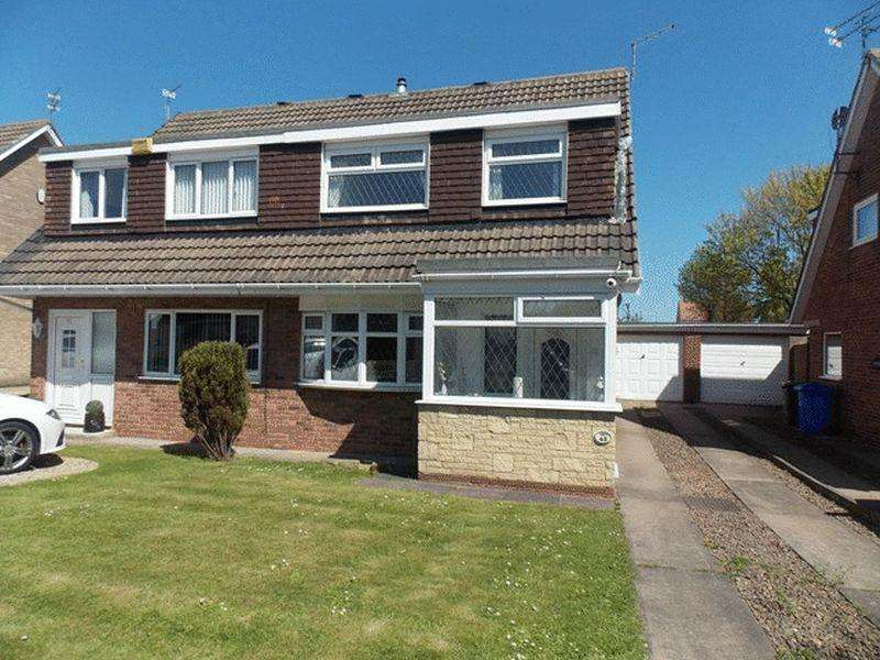 3 Bedrooms Semi Detached House for rent in Osprey Drive, Blyth
