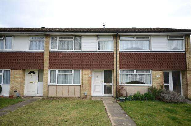 3 Bedrooms Terraced House for sale in Belle Vue Close, Aldershot, Hampshire