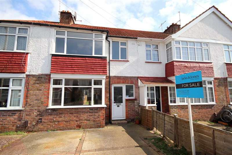 3 Bedrooms Terraced House for sale in Ripley Road, Worthing, BN11