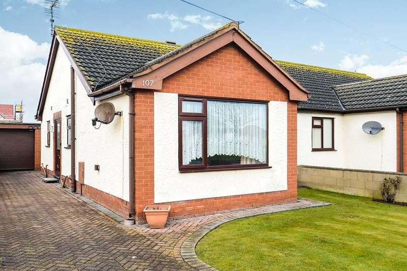 2 Bedrooms Semi Detached Bungalow for sale in Garnett Drive, Prestatyn, LL19