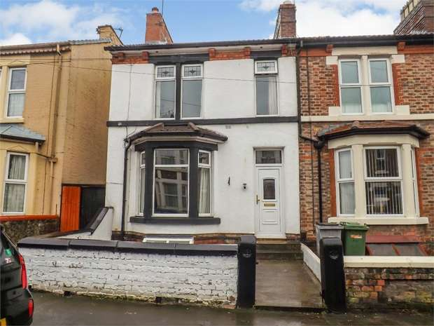 3 Bedrooms End Of Terrace House for sale in Urmson Road, Wallasey, Merseyside