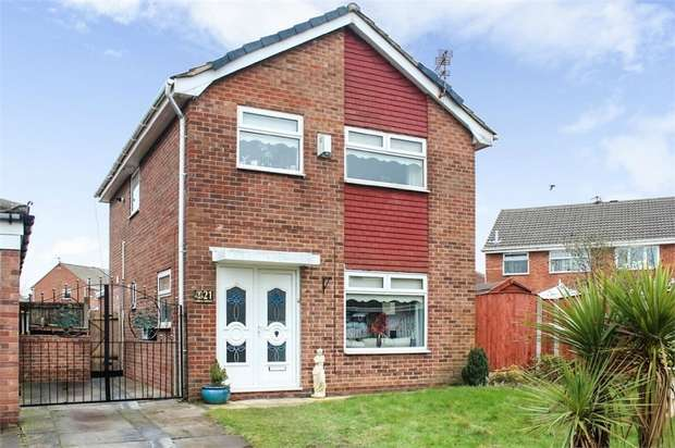 3 Bedrooms Detached House for sale in Lobelia Avenue, Liverpool, Merseyside