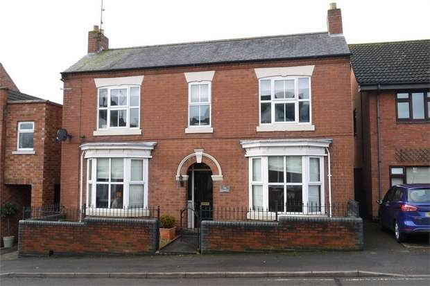 4 Bedrooms Detached House for sale in The Laurels, Clarke Street, Market Harborough, Leicestershire