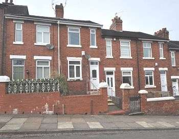 2 Bedrooms Terraced House for sale in Frederick Avenue, Penkhull, Stoke-on-Trent, ST4 7DY