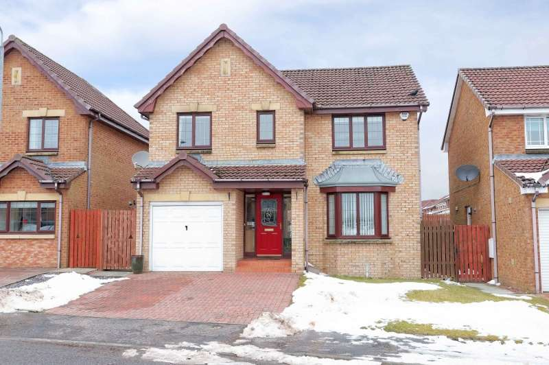 4 Bedrooms Detached House for sale in Cumming Avenue, Carluke, South Lanarkshire, ML8 4RL