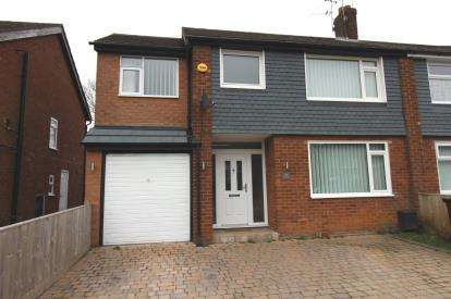 4 Bedrooms Semi Detached House for sale in Midland Road, Bramhall, Stockport, Cheshire