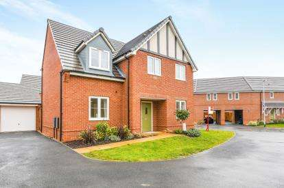 4 Bedrooms Detached House for sale in Volans Drive, Westbrook, Warrington, Cheshire