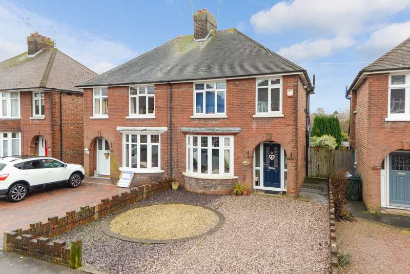 3 Bedrooms Semi Detached House for sale in Sprotlands Avenue, Willesborough, Ashford, TN24