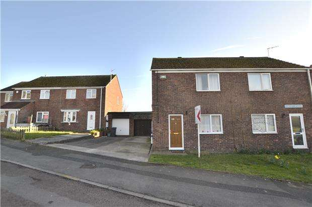 2 Bedrooms Semi Detached House for sale in Gurney Avenue, Tuffley, GLOUCESTER, GL4 0YL