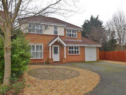 4 Bedrooms Detached House for sale in Islay Close, Ellesmere Port, Cheshire, CH65