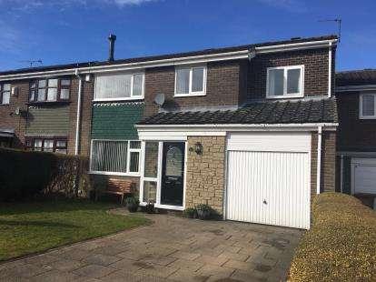 4 Bedrooms Semi Detached House for sale in Bracken Close, Dinnington, Newcastle, Tyne Wear, NE13