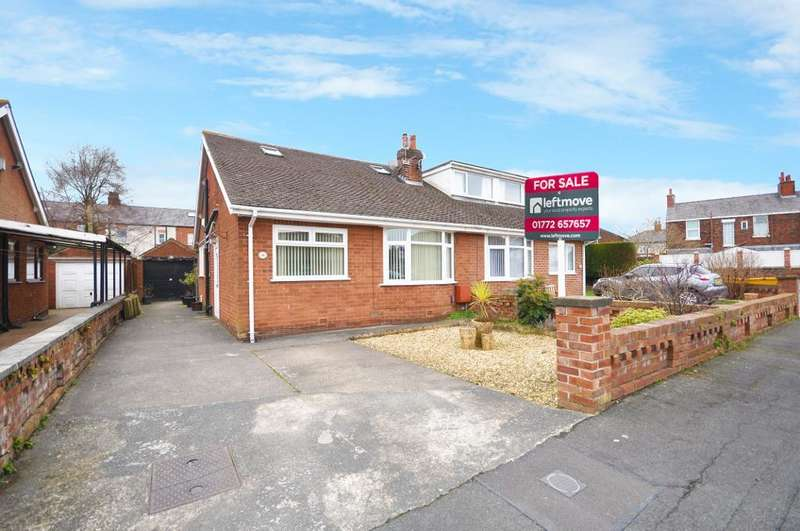 3 Bedrooms Semi Detached Bungalow for sale in St Stephens Road, Kirkham, Preston, Lancashire, PR4 2BL
