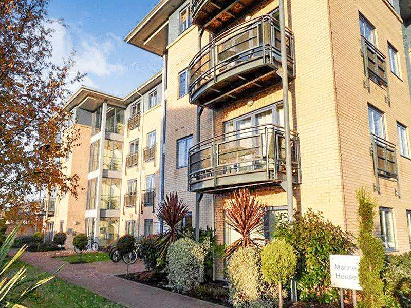 2 Bedrooms Apartment Flat for sale in Marine House, Castle Quays Close, Nottingham