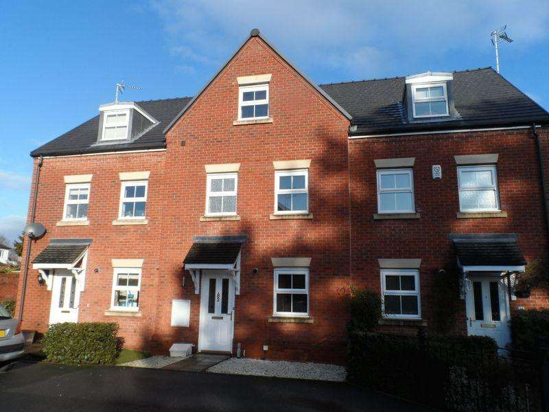 3 Bedrooms Terraced House for sale in Acton Hall Walks, Wrexham